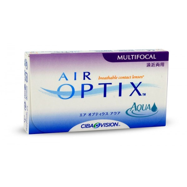 Акция! Air Optix Multifocal 4 линзы по цене 3-х