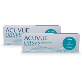 Acuvue Oasys 1-Day with HydraLuxe (60шт.) -15%
